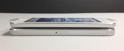 iPod touch第5世代とiPhone5:本体側面