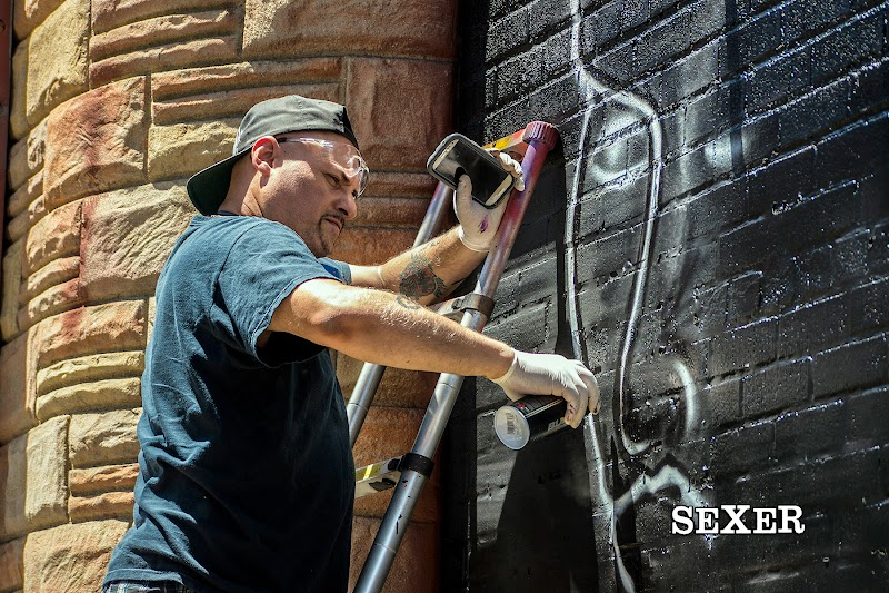 Sexer Graffiti Artist