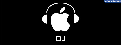 Portada para facebook de Dj apple