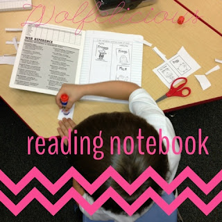 Photo of Reading Notebook Wolfelicious