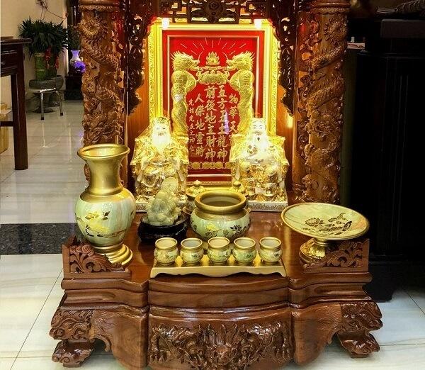 Cần chú ý các lễ vật làm lễ trước khi lập ban thờ