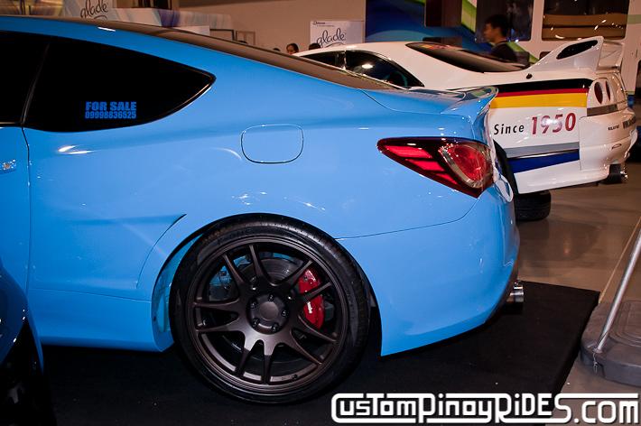 Hyundai Genesis Coupe Body Kit Designs by Atoy Customs 2012 Manila Auto Salon Custom Pinoy Rides pic28