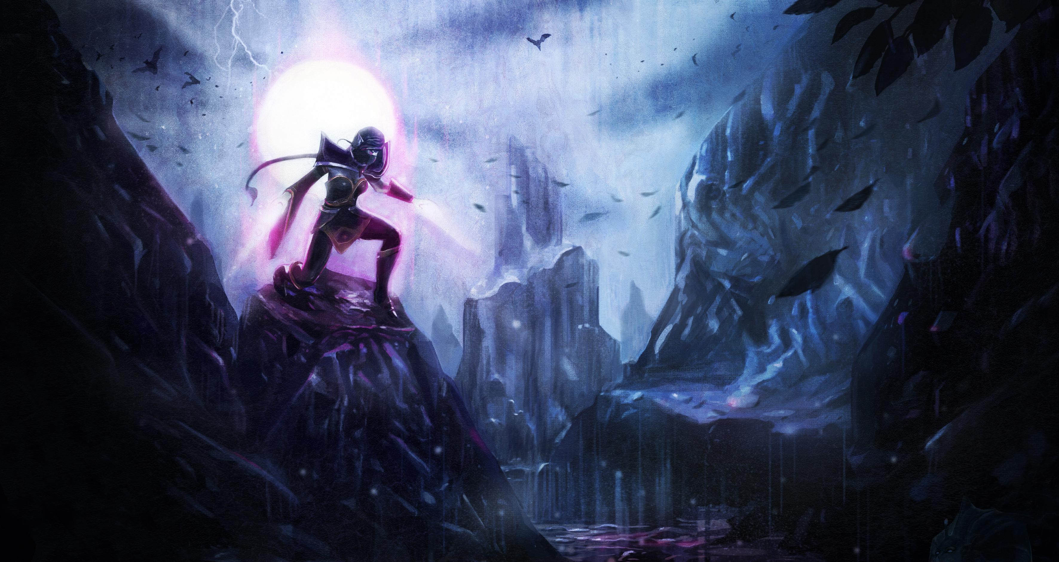 Loạt ảnh nguyên họa của các hero trong DotA 2 - Ảnh 28