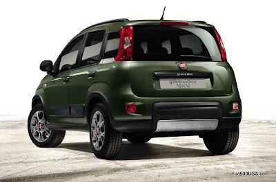 2013 Fiat Panda 4x4 rear