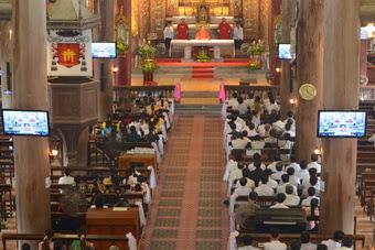 Giới Doanh nhân Công giáo Phát Diệm mừng lễ bổn mạng