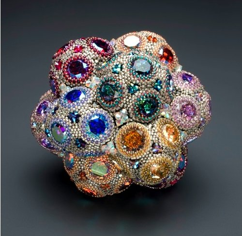 Sculptural Beadwork by Laura McCabe