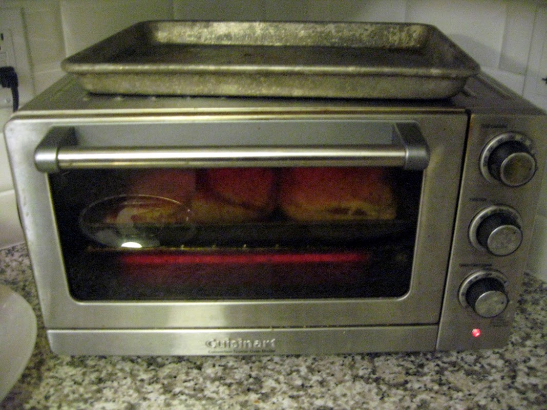 Our trusty toaster oven - the tool behind so many wonderful Scordo dishes