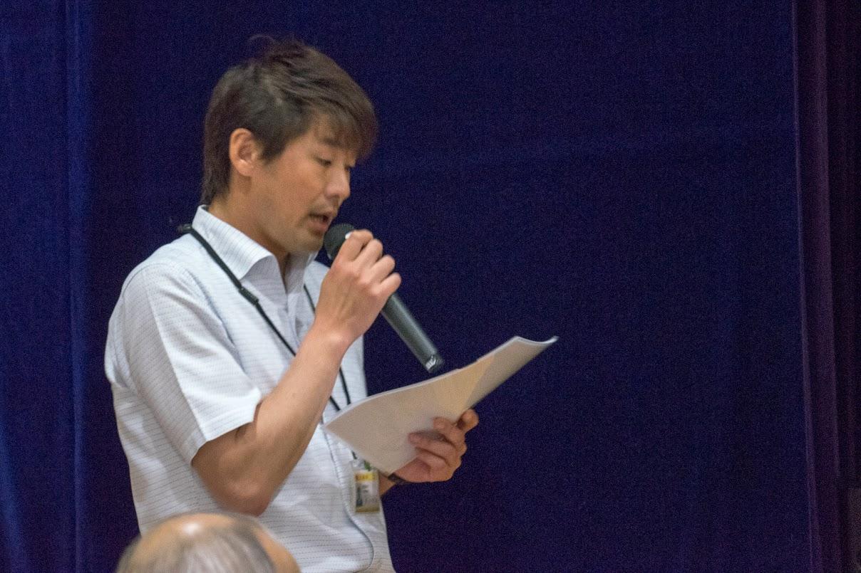 北竜町教育委員会社会教育係・長谷育夫 係長