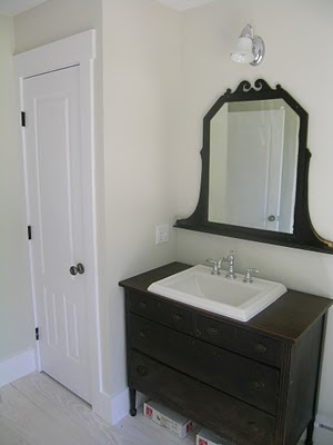 The Not So Modern Family Old To New Vanity Ideas Needed