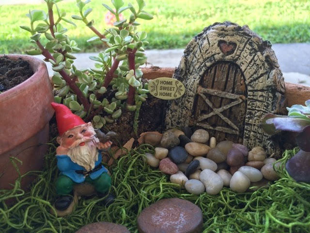 Real Gnomes: The REAL Life Of A Doctor's Wife: Gnome Garden