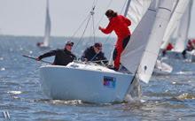J/22 sailing Annapolis NOOD Regatta