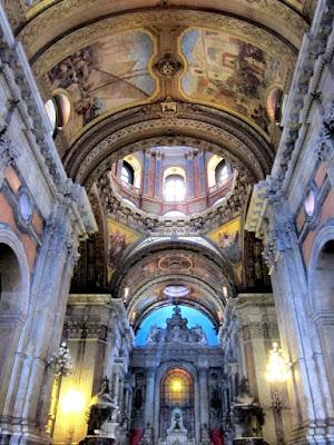 Candelaria church in Rio de Janeiro Brazil