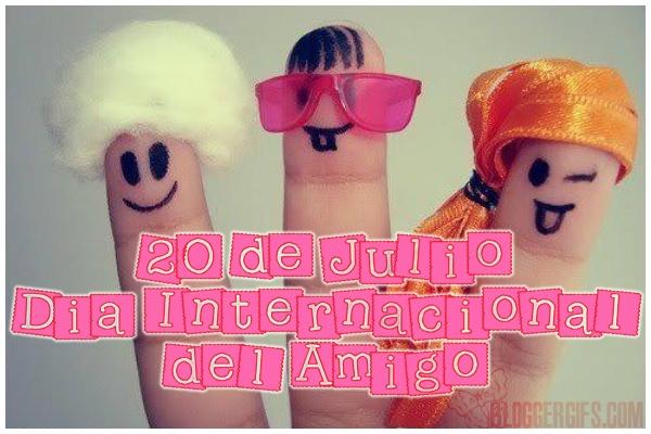 20 julio dia internacional Tarjetas con Frases sobre los Amigos