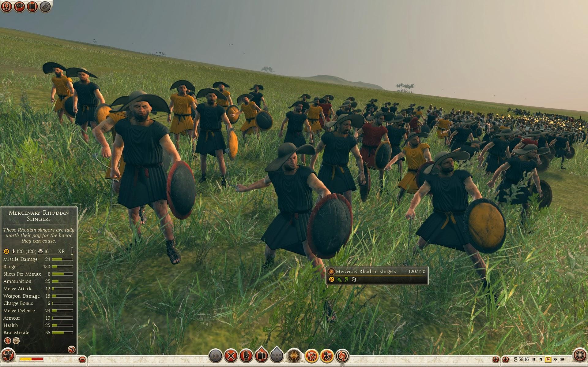 Mercenary Rhodian Slingers