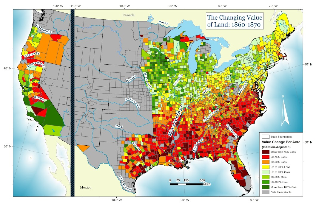 OC Land Value Changes United States 18601870 1059x685 MapPorn