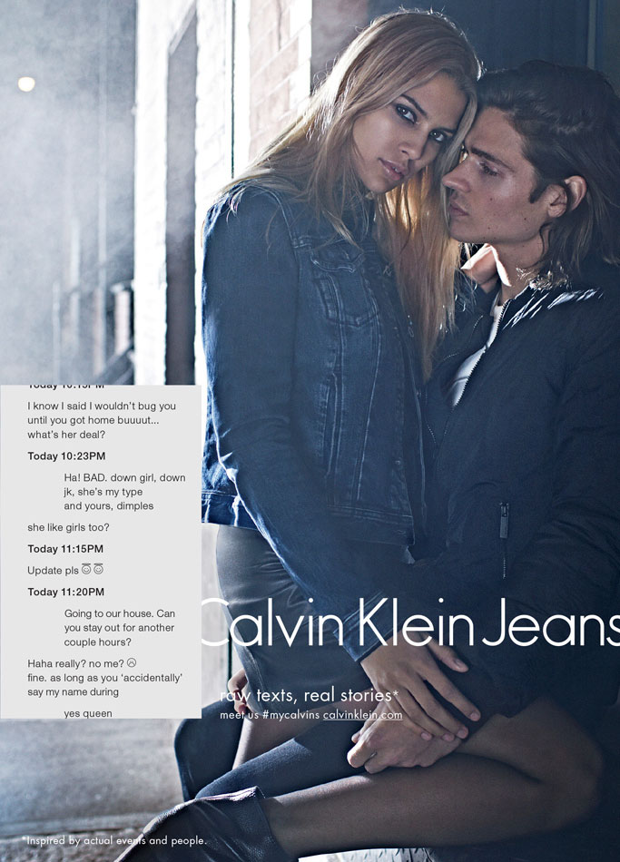 Calvin Klein Jeans Fall 2015 — The Full Story