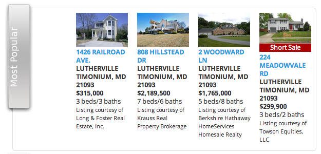 Helene's Best Buy Homes in Lutherville Home