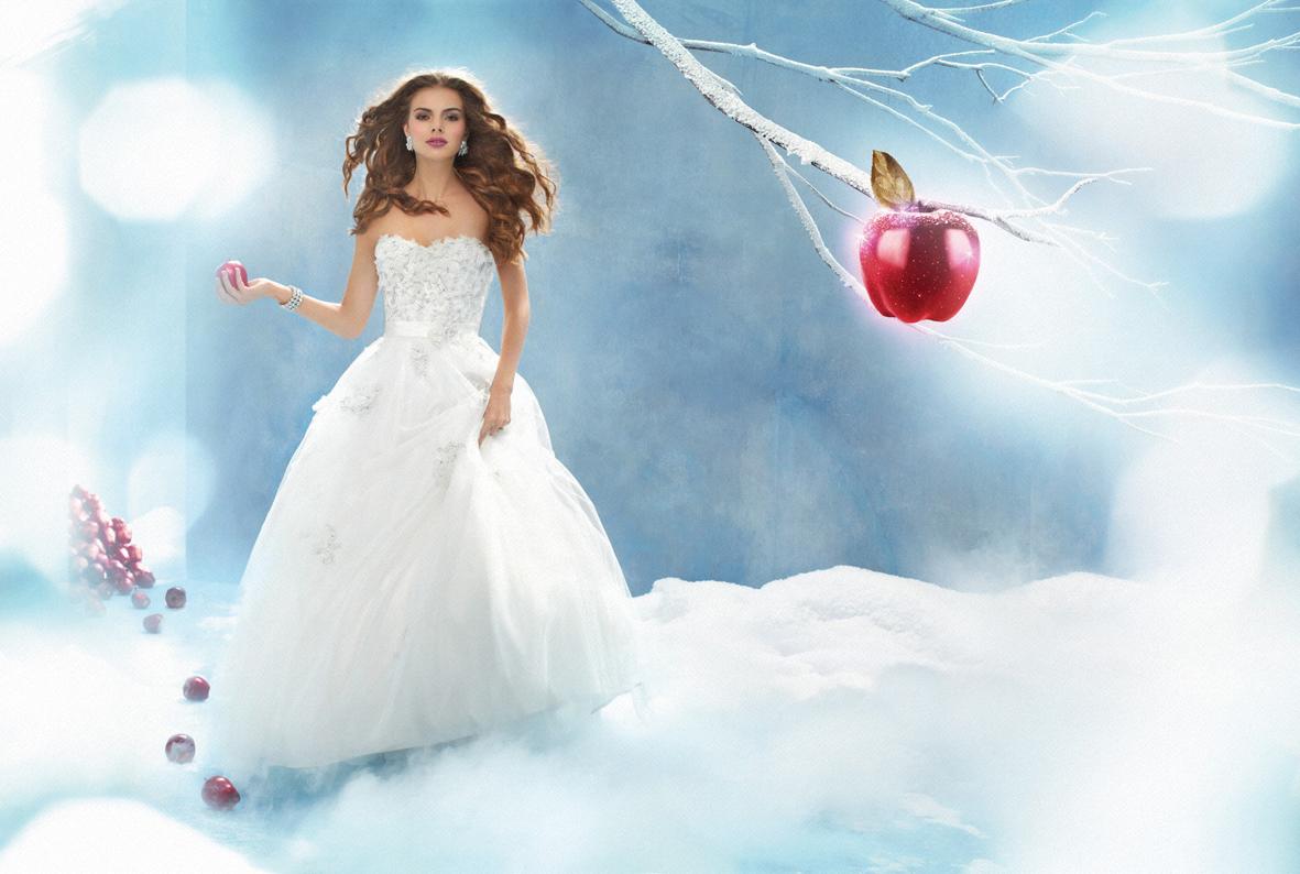 Fairy Tale Wedding Fashion - Modern Wedding