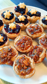 Pacific Pie Food Blogger Event - mini pies!