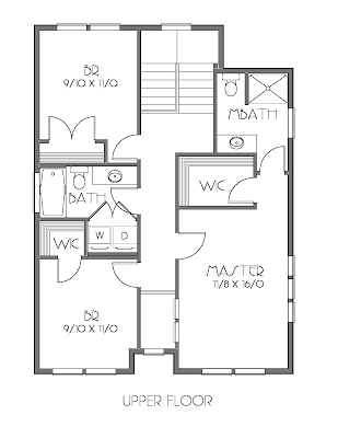 I stock house plans the portland b 2635b 4 bedrooms 3 for Adu plans for sale