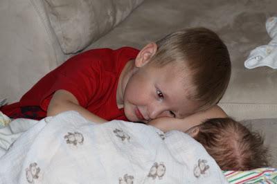 watching baby sleep