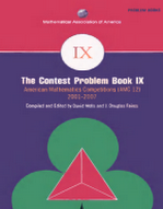 The Contest Problem Book IX - 2001-2007