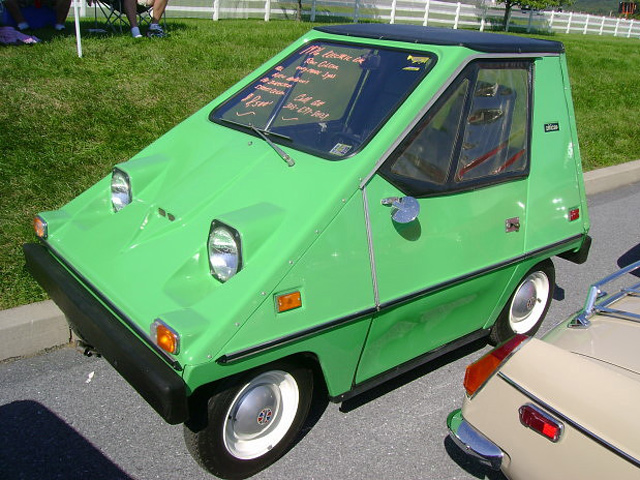 Horrible Small Cars Vanguard Citicar Localized
