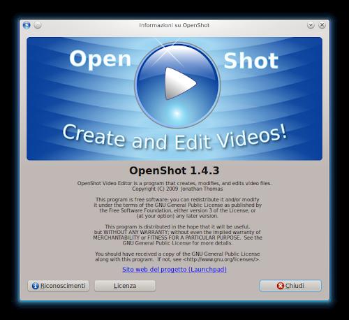 OpenShot 1.4.3 - info