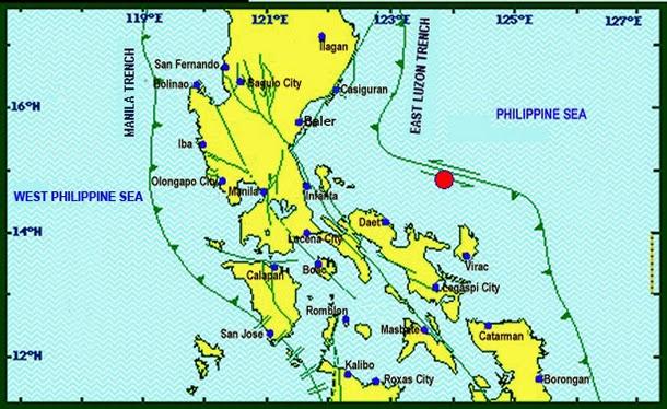 Pandan, Catanduanes quake