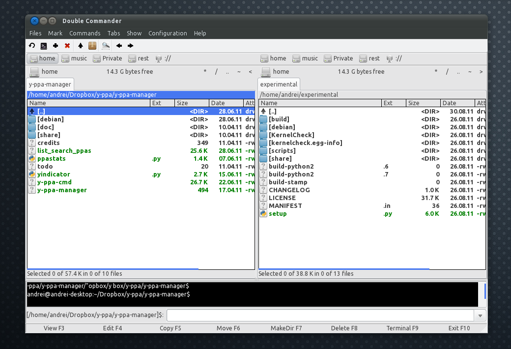 Double Commander 0 5, Released (Dual Panel File Manager) ~ Web Upd8