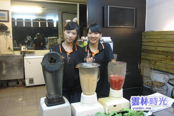 斗六-喝杯綠果子的搖搖飲料