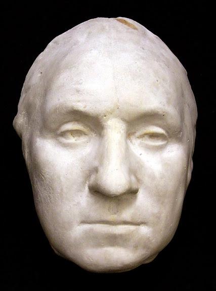 Máscara de George Washington, feita ainda em vida. (Foto: Princeton University Library)