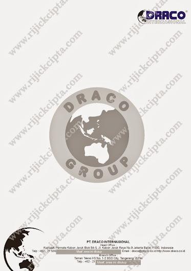 contoh kop surat perusahaan di Jakarta PT. Draco International, Kebon Jeruk