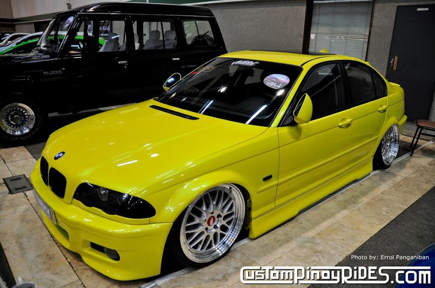 Moses Bobby Gauna's BMW E46 on Air Suspension Custom Pinoy Rides Errol Panganiban pic1