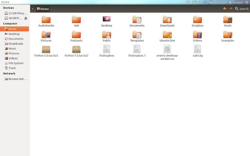 Nautilus on Ubuntu 11.10