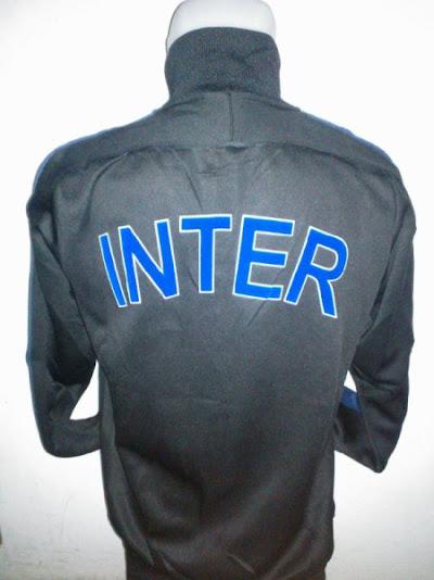 Jaket Inter Milan Warna Hitam Biru