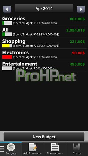 Quick Money v2.1.8.3 for BlackBerry 10