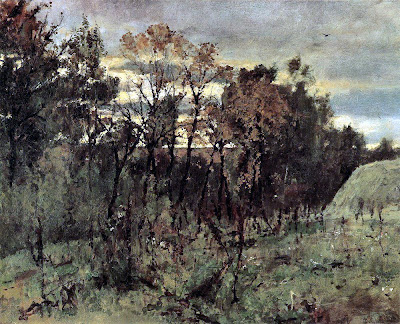Valentin Serov - Autumn evening. Domotkanovo