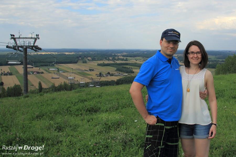 Ruszaj w Drogę na szczycie góry Kamieńsk