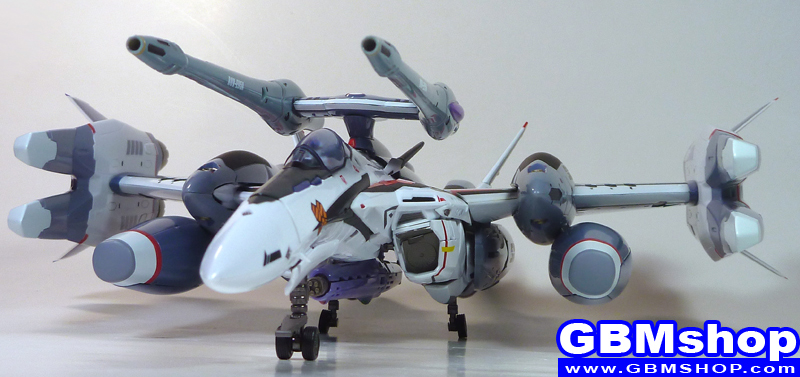 Macross Frontier VF-25F Renewal Version Tornado pack Outer-Space Use Fighter Mode