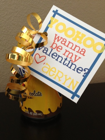 Yoohoo Wanna be my Valentine