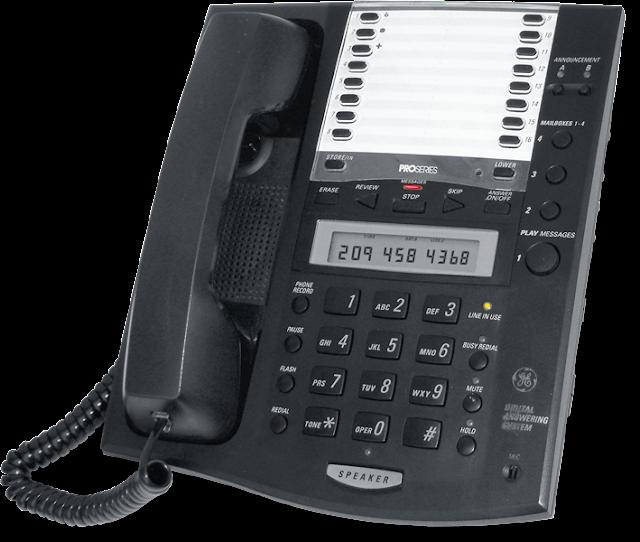 Τηλεφωνητής-Τηλέφωνο GE 2-9985