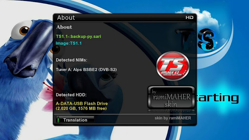 New back up for DM800hd: TS1.1DM800HD-SariBC