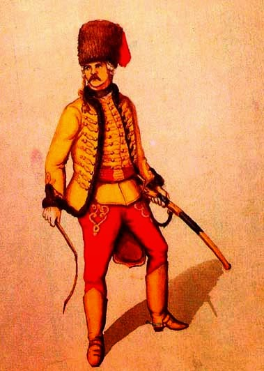 Гусар Грузинского полка