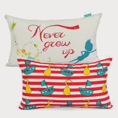 Mr Fox Peter Bedding - Peter Pan - pillows