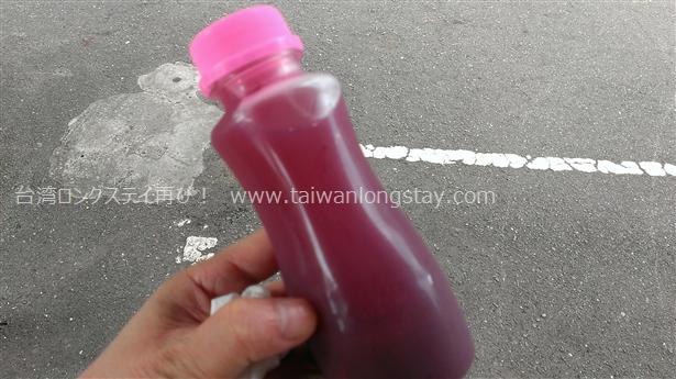 巨峰の果汁100%ジュースボトル