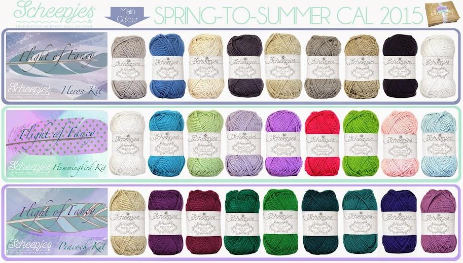 yarn kits for scheepjes cal 2015 flight of fancy