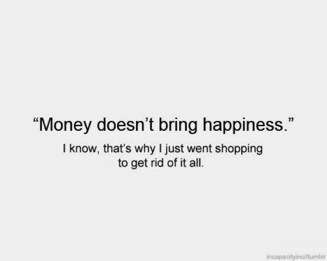 does money brings happiness essay In the pursuit of happiness - individuals try to find happiness, but like water or air, it is hard to clench in your hands as defined in merriam-webster (2014), happiness is.