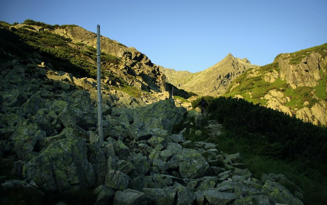 Dolina Staroleśna - szlak