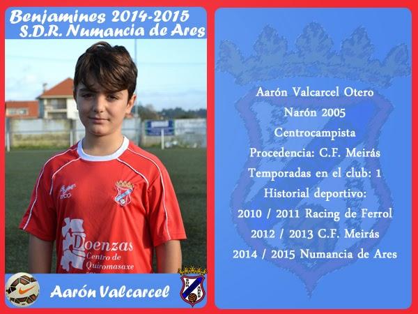 ADR Numancia de Ares. AARON VALCARCEL